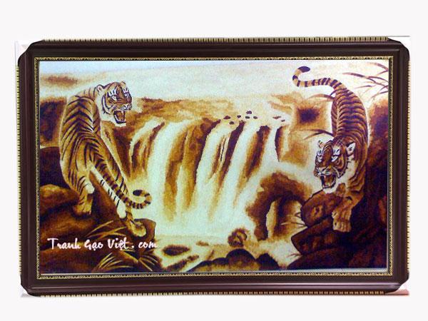 tranh con hổ