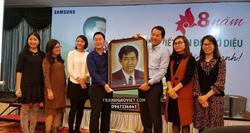 Tranh tặng người nước ngoài của chị Hang Khong