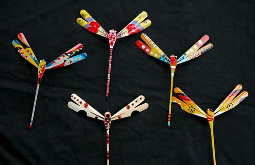 Chuồn chuồn bằng tre làm quà lưu niệm việt nam