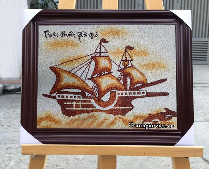Tranh Thuận buồm xuôi gió