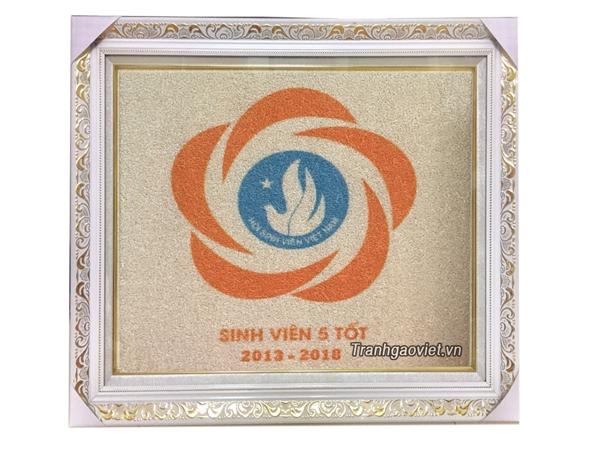 Logo sinh viên 5 tốt Tranh đặt của hội SVVN