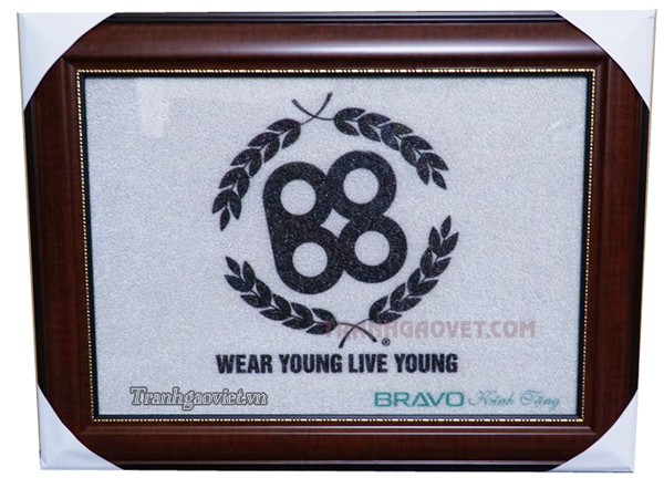 Logo Wear Young Live Young - Tranh đặt của Bravo