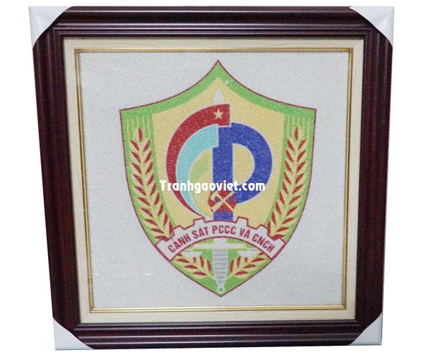 Logo của cảnh sát PCCC quà tặng của đối tác