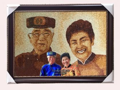 Chân dung 2 bác người Hàn Quốc