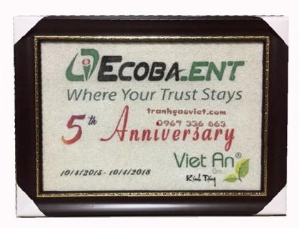 Quà tặng đối tác|Logo Ecobank