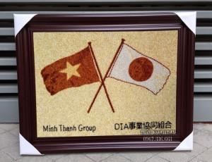 Tranh logo khách đặt