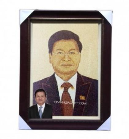 Chân dung Tổng Thống Lào- Thongloun Sisoulith
