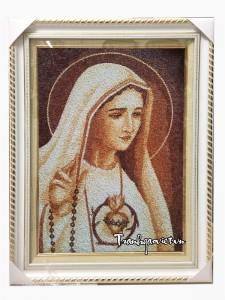 Tranh gạo đức mẹ maria