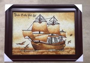 Tranh gạo thuận buồm xuôi gió
